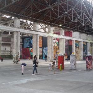 Exposition street art Mister Freeze 2017