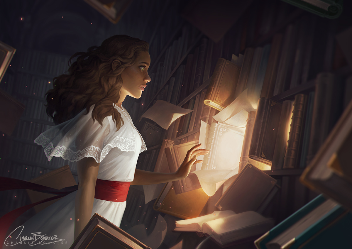 The Reader – Charlie Bowater