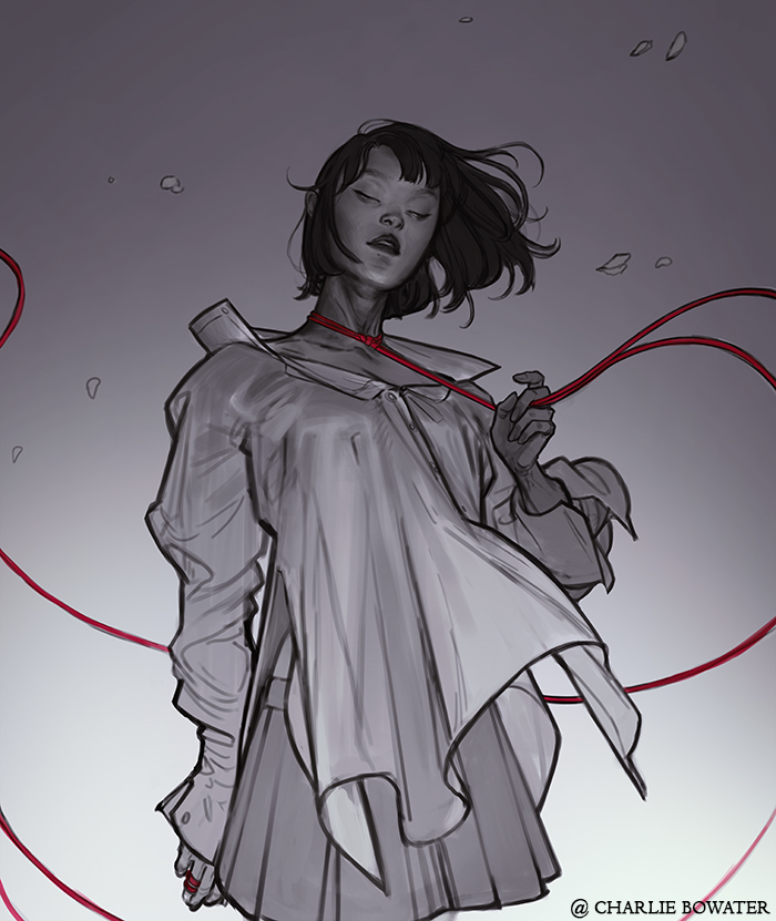 Croquis / sketch de Face Yourself – Charlie Bowater