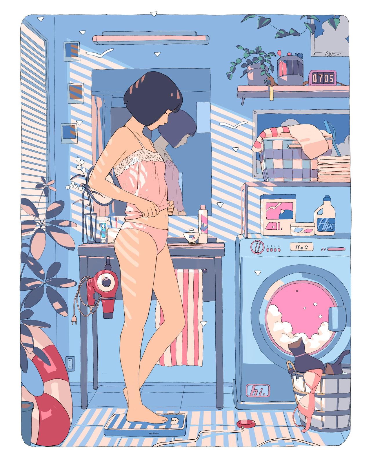 Pastel Art – HAI / @aorkgk
