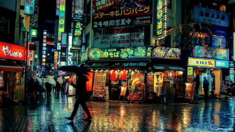 Tokyo de nuit - Liam Wong