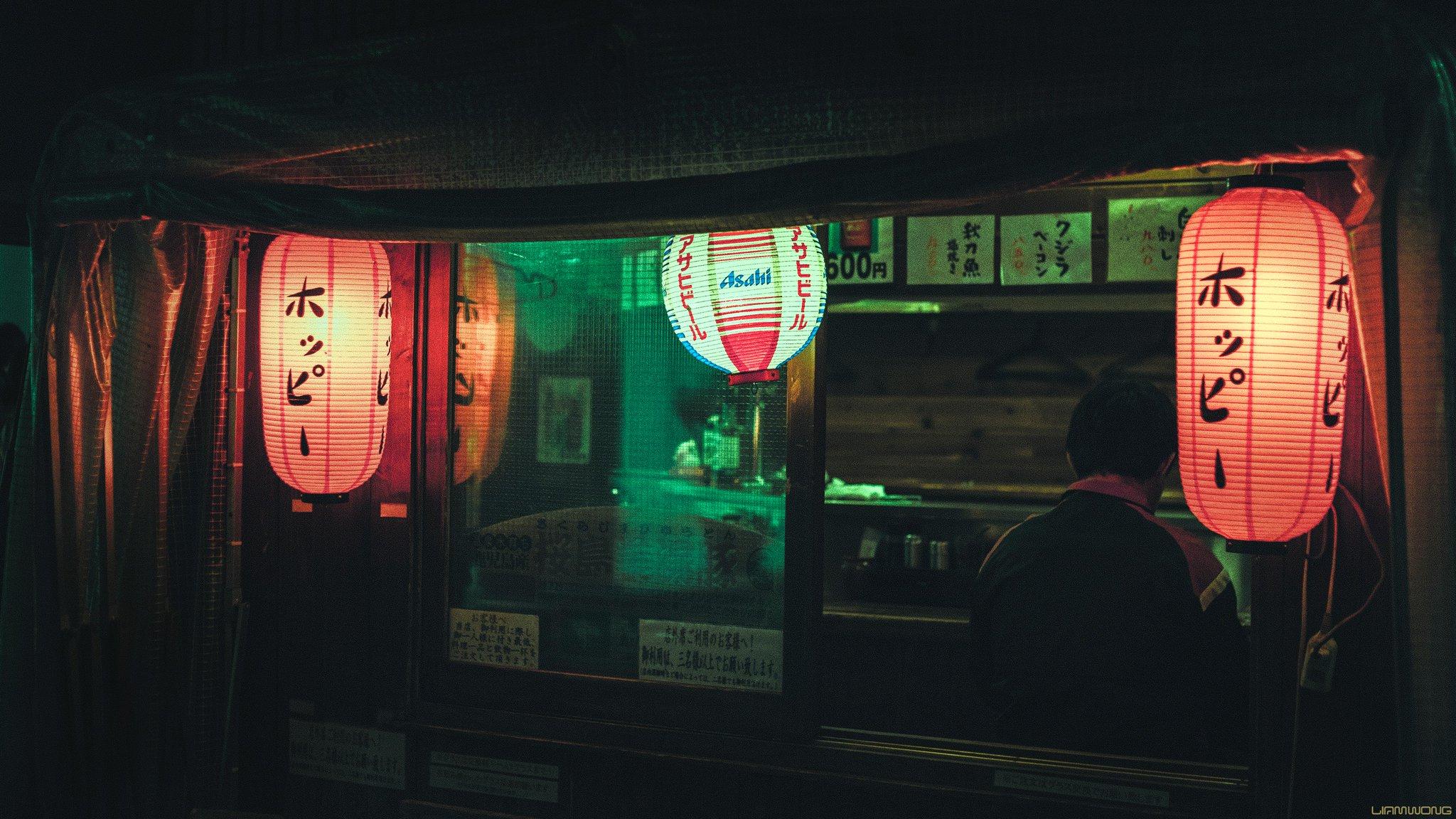 Tokyo de nuit – Liam Wong