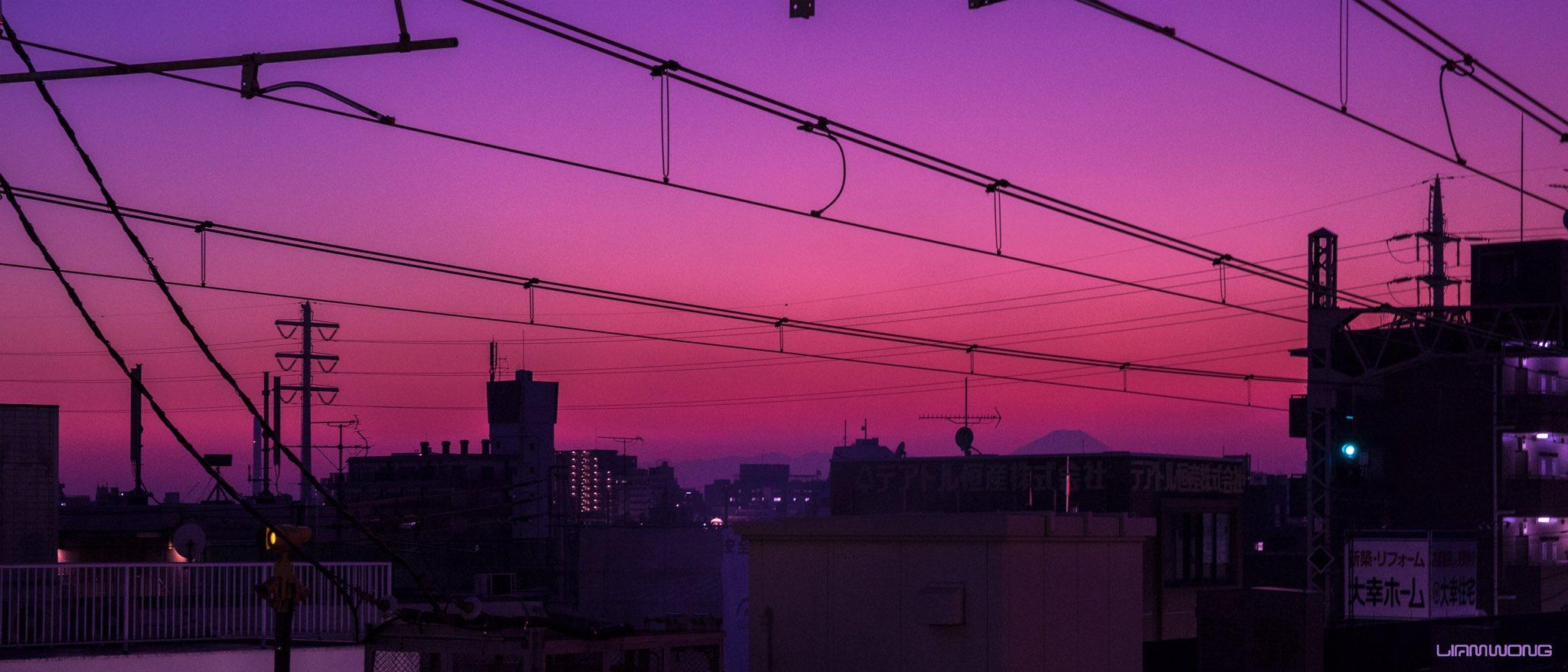 Lever-coucher de soleil / Liam Wong