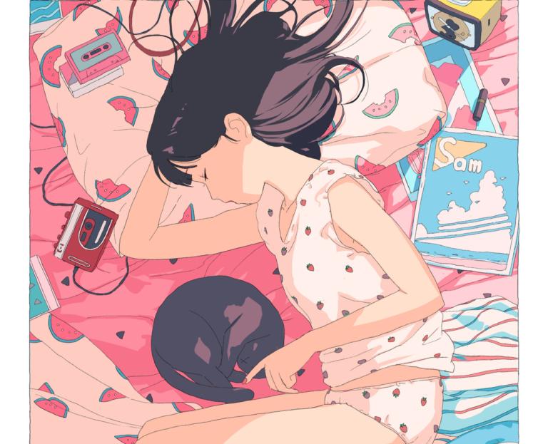 Pastel Art - HAI / @aorkgk