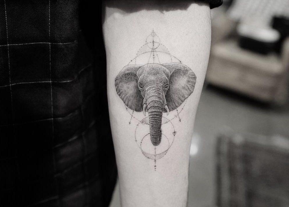 Tatouage d'éléphant – Dr Woo