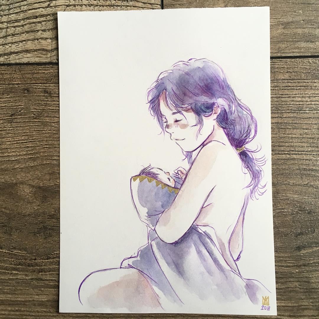 Cadeau – Marianne Alexandre, Inktober 2018