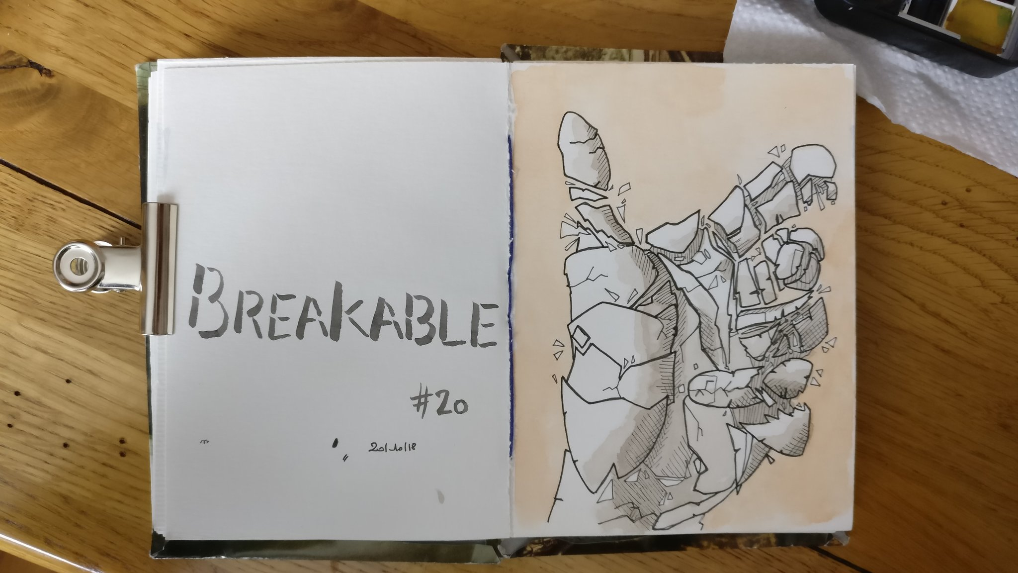 Cassable – Titerin, Inktober 2018
