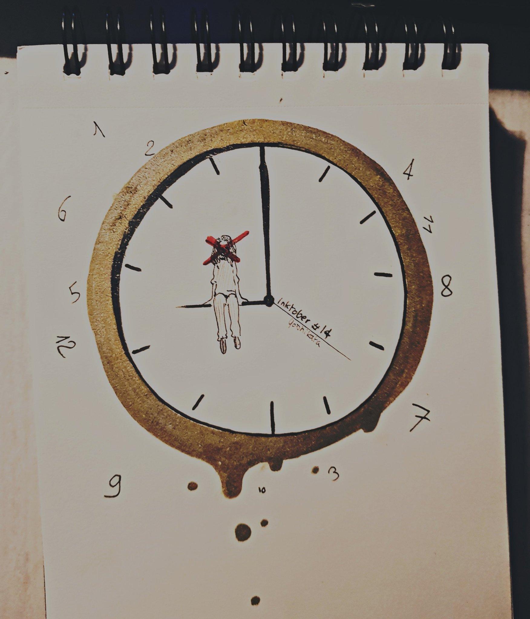 Horloge – Bookata, Inktober 2018