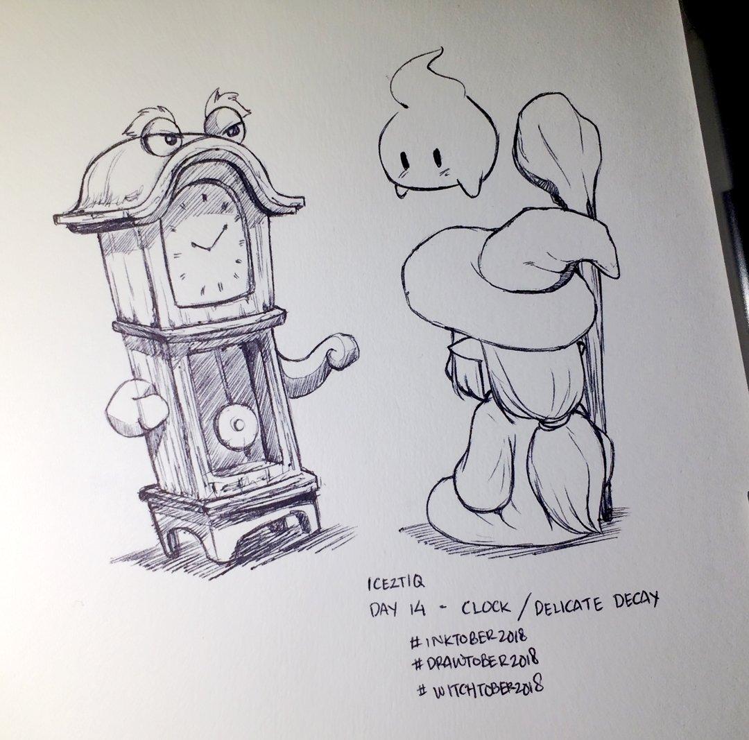 Horloge – Hendry Roesly, Inktober 2018