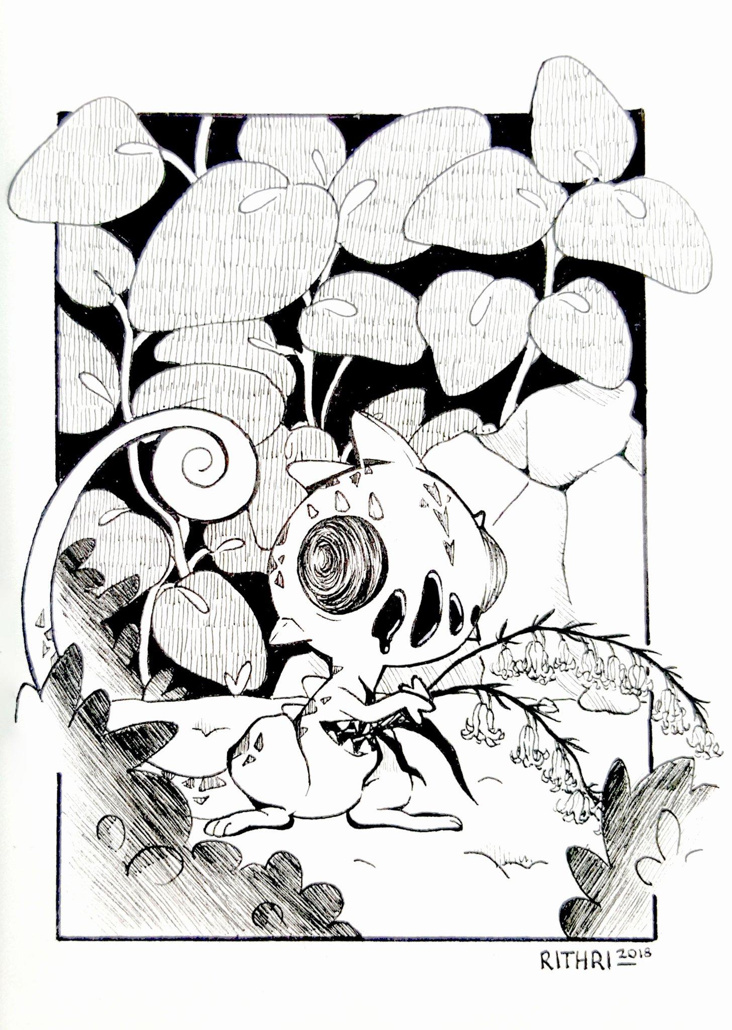 Hors thème – Rithri, Inktober 2018