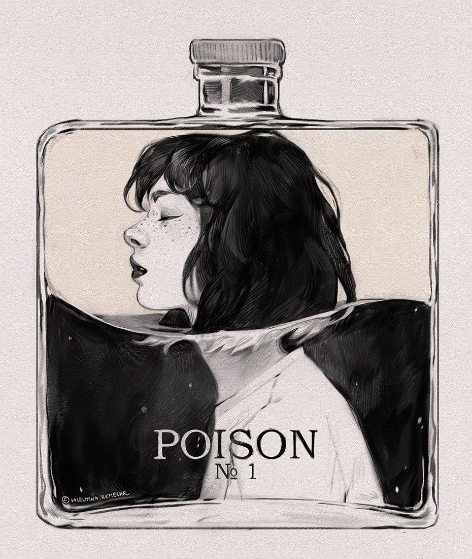 Empoisonné.e – Valentina Remenar, Inktober 2018