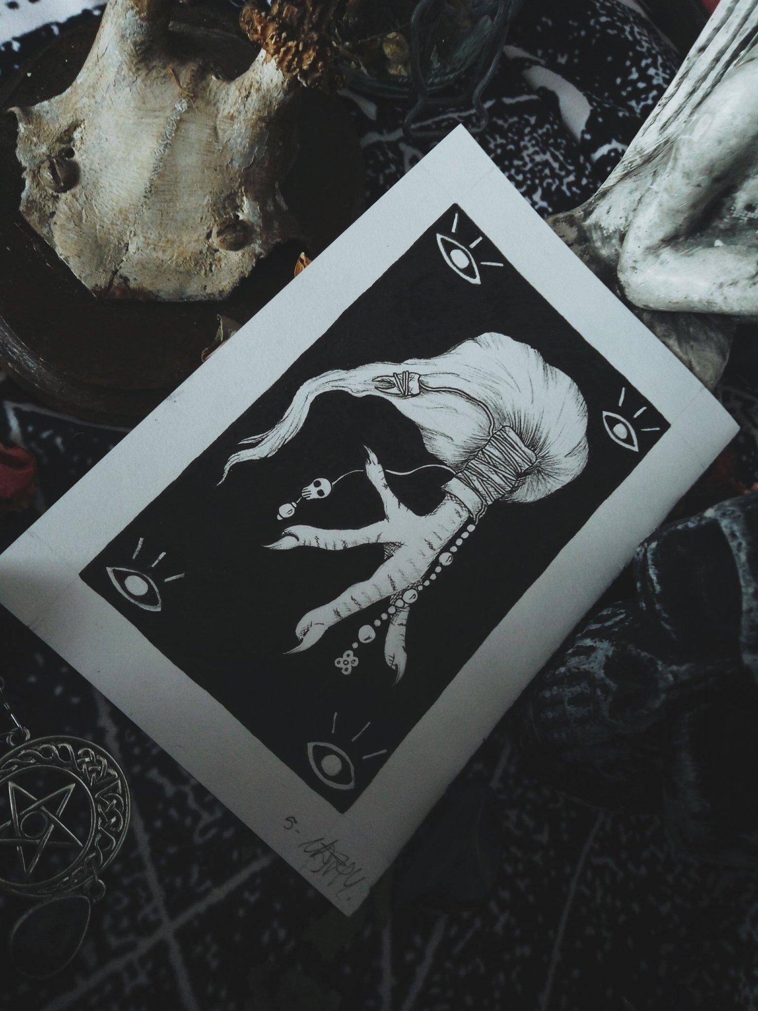 Poulet – Colournathy, Inktober 2018