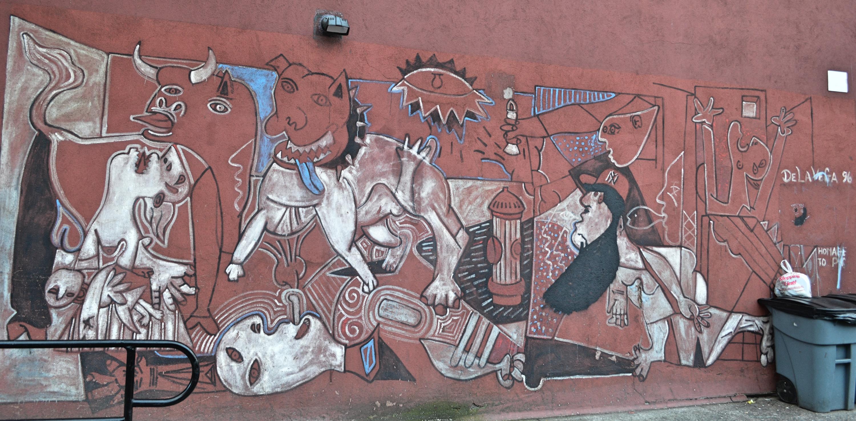 De La Vega, Guernica, 1996, East Harlem