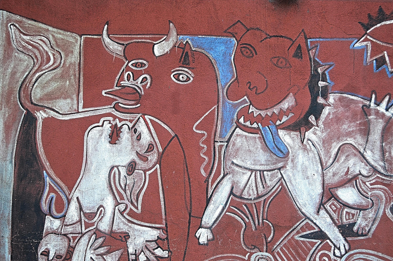 De La Vega, Guernica, détail, 1996, East Harlem