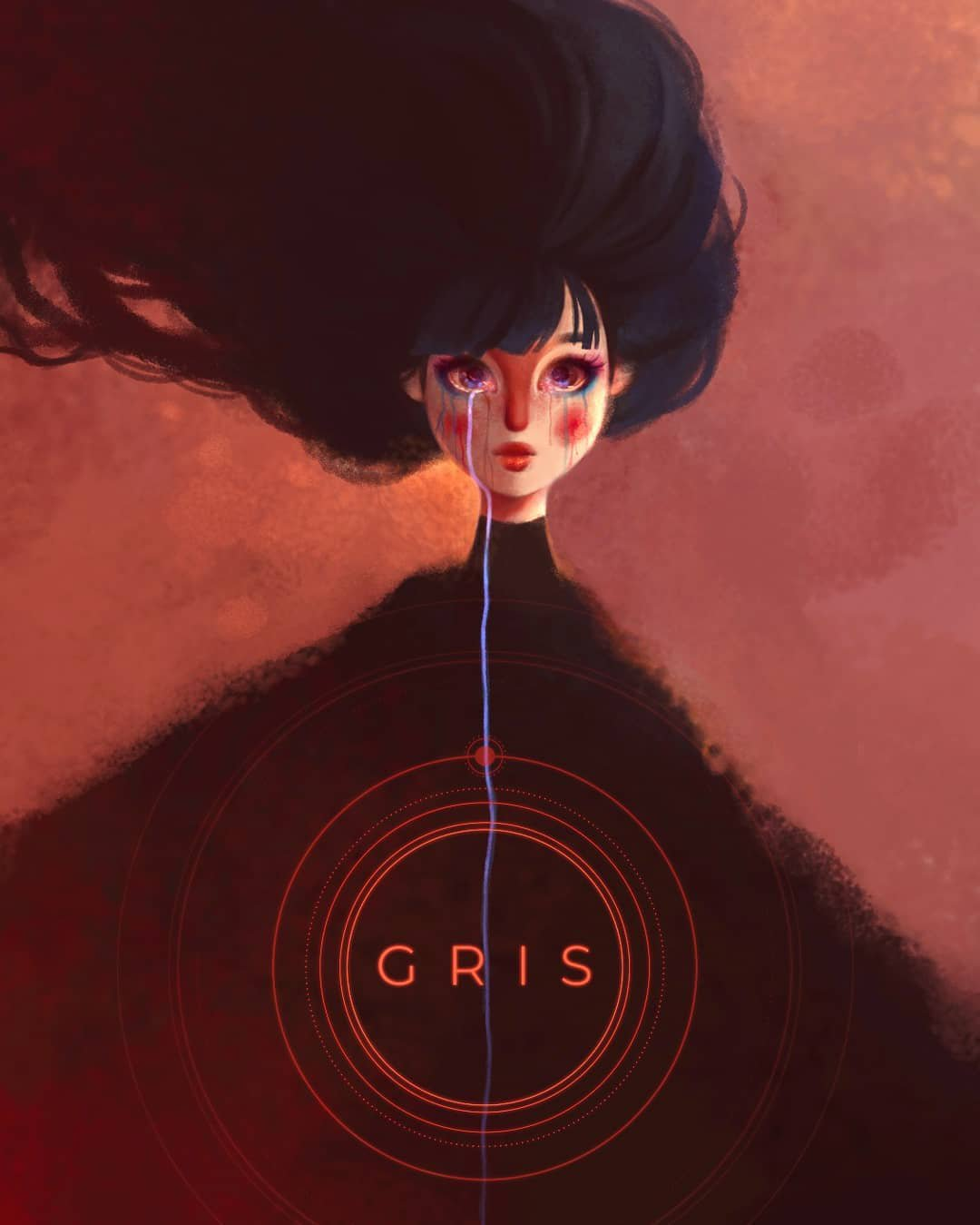 Fan art GRIS – Ingrid Arbiol (@ingridarb)