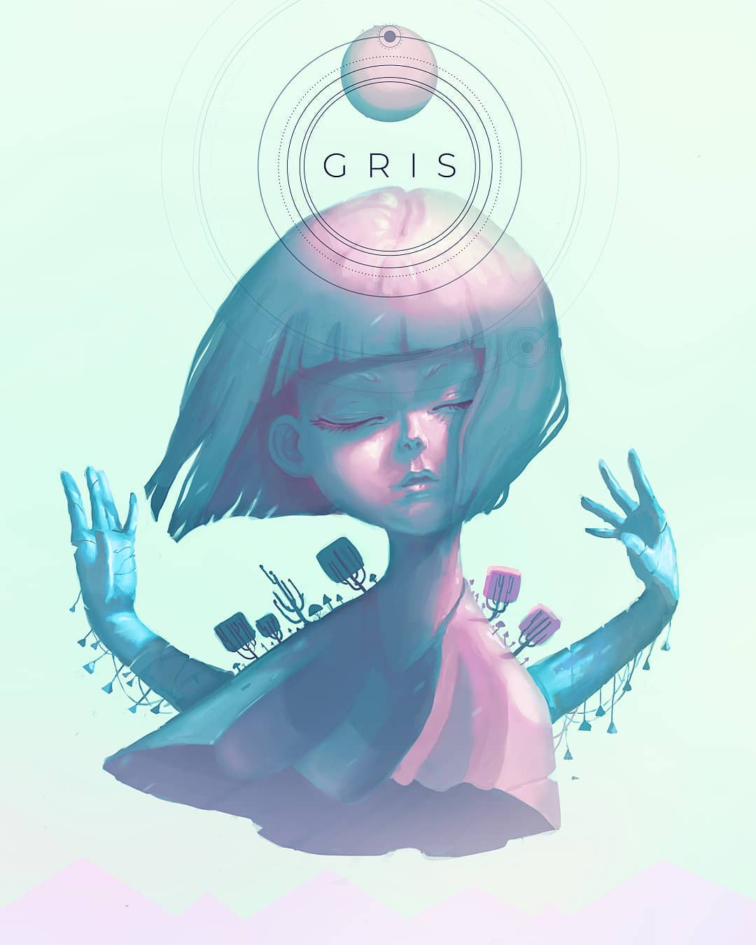 Fan art GRIS – Miina (@artmiina)