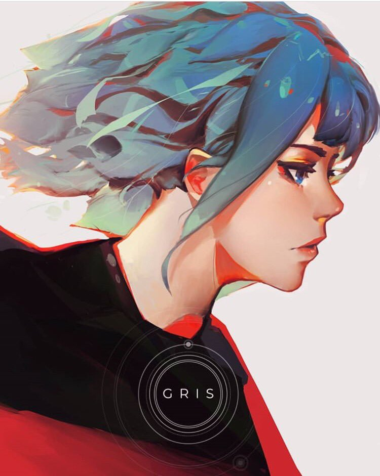Fan art GRIS – seven (@asevc)
