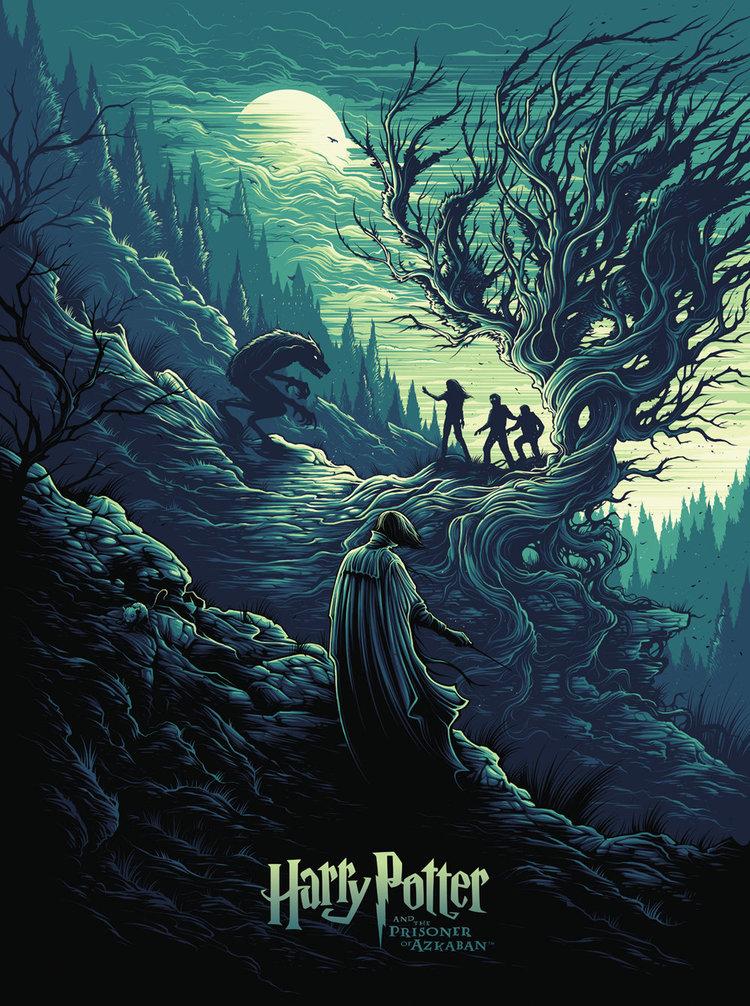 Triptyque Harry Potter de Dan Mumford