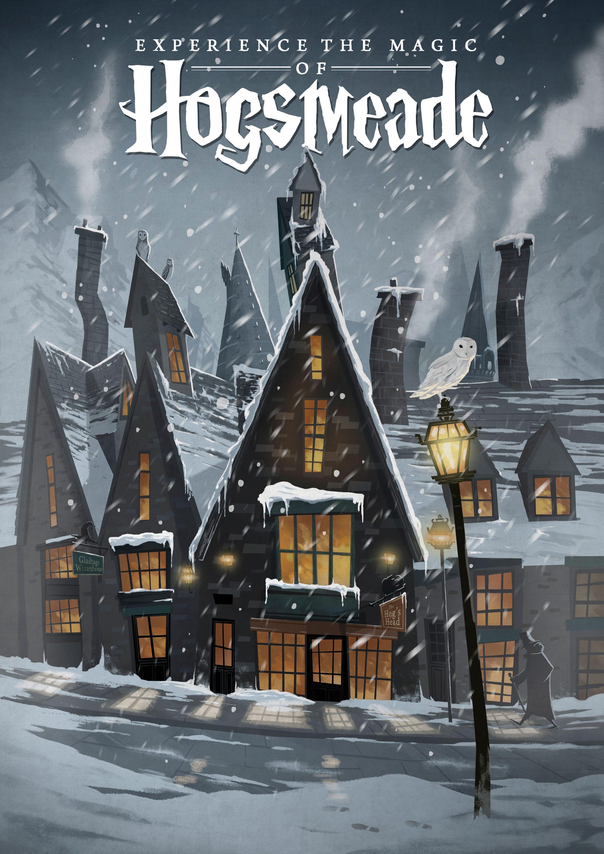 Hogsmeade (Pré-au-Lard) par Nicolas Rix
