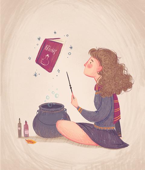 Hermione par Daniela Sosa