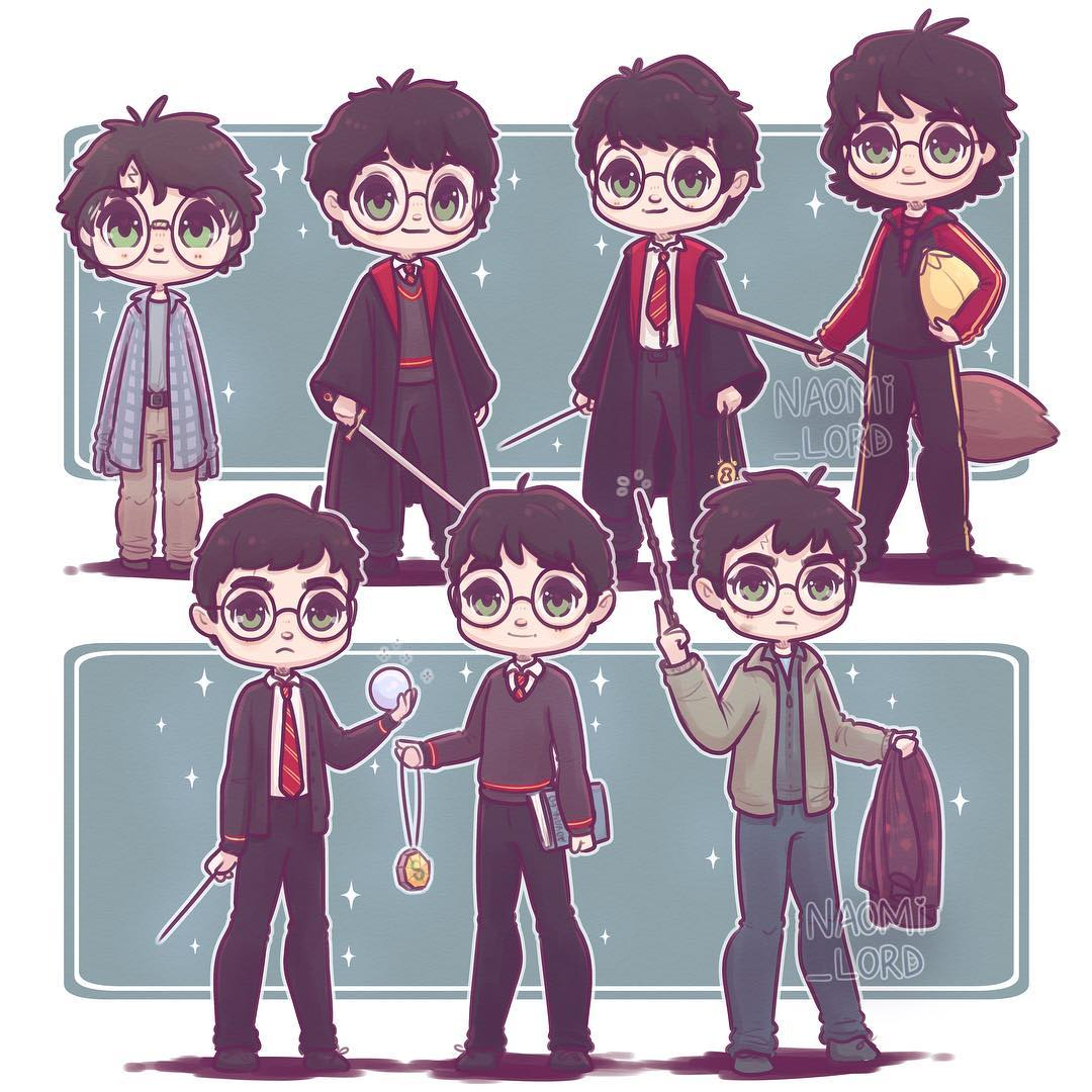 Seven Harrys © Naomi Lord