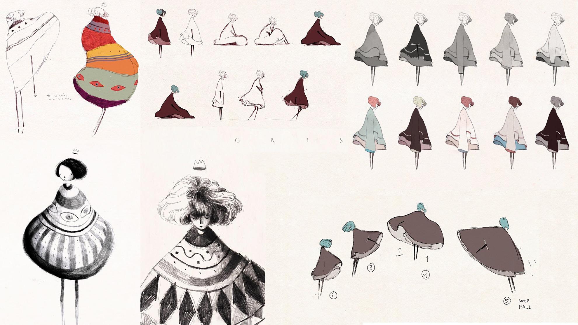 Évolution de la robe -GRIS