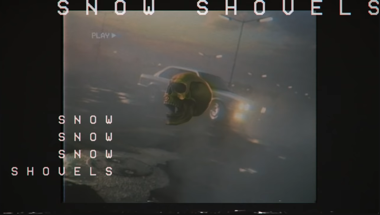 Pochette de Snow Shovels – Droeloe