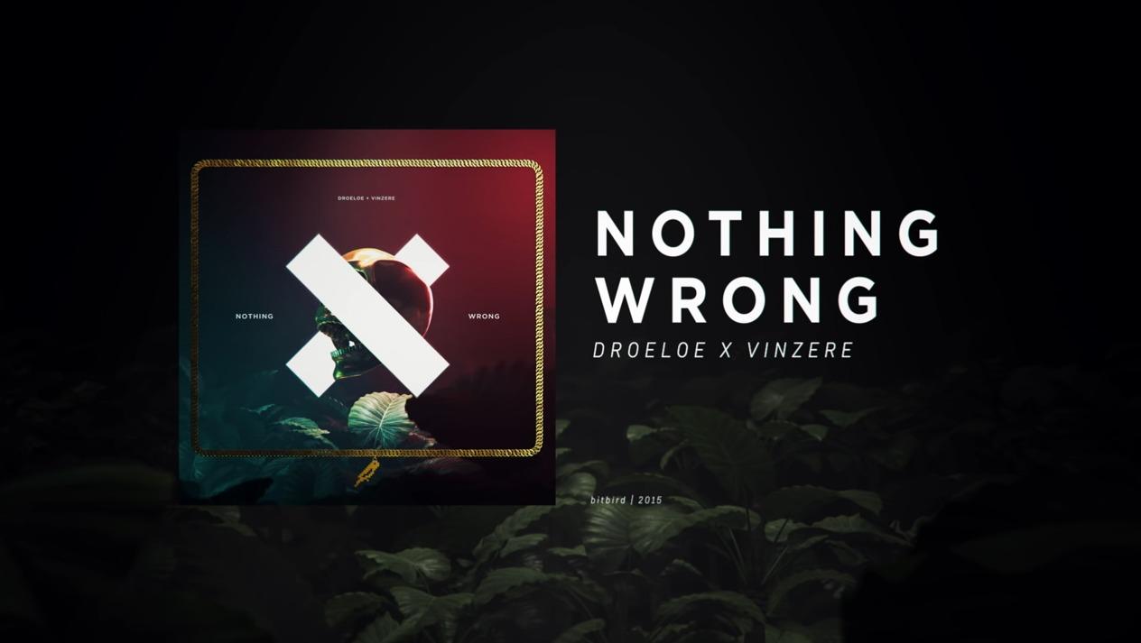 Pochette de Nothing Wrong – Droeloe