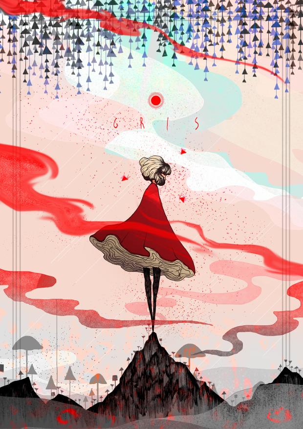 Fan art GRIS – 수라토스 (@sura_toss)