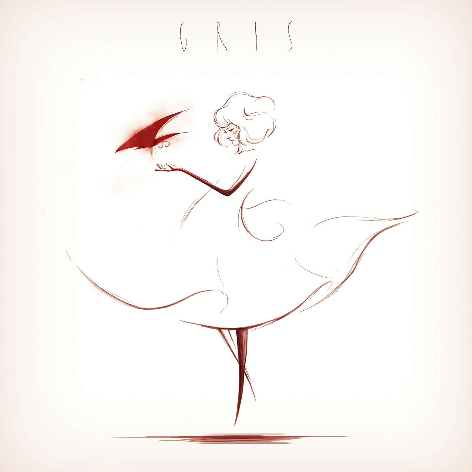 Fan art GRIS – Joel Roset (@JoelRoset)