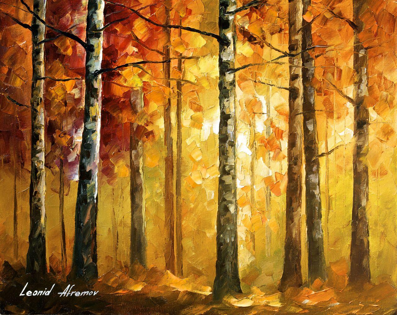 Hidden Tree – Leonid Afremov