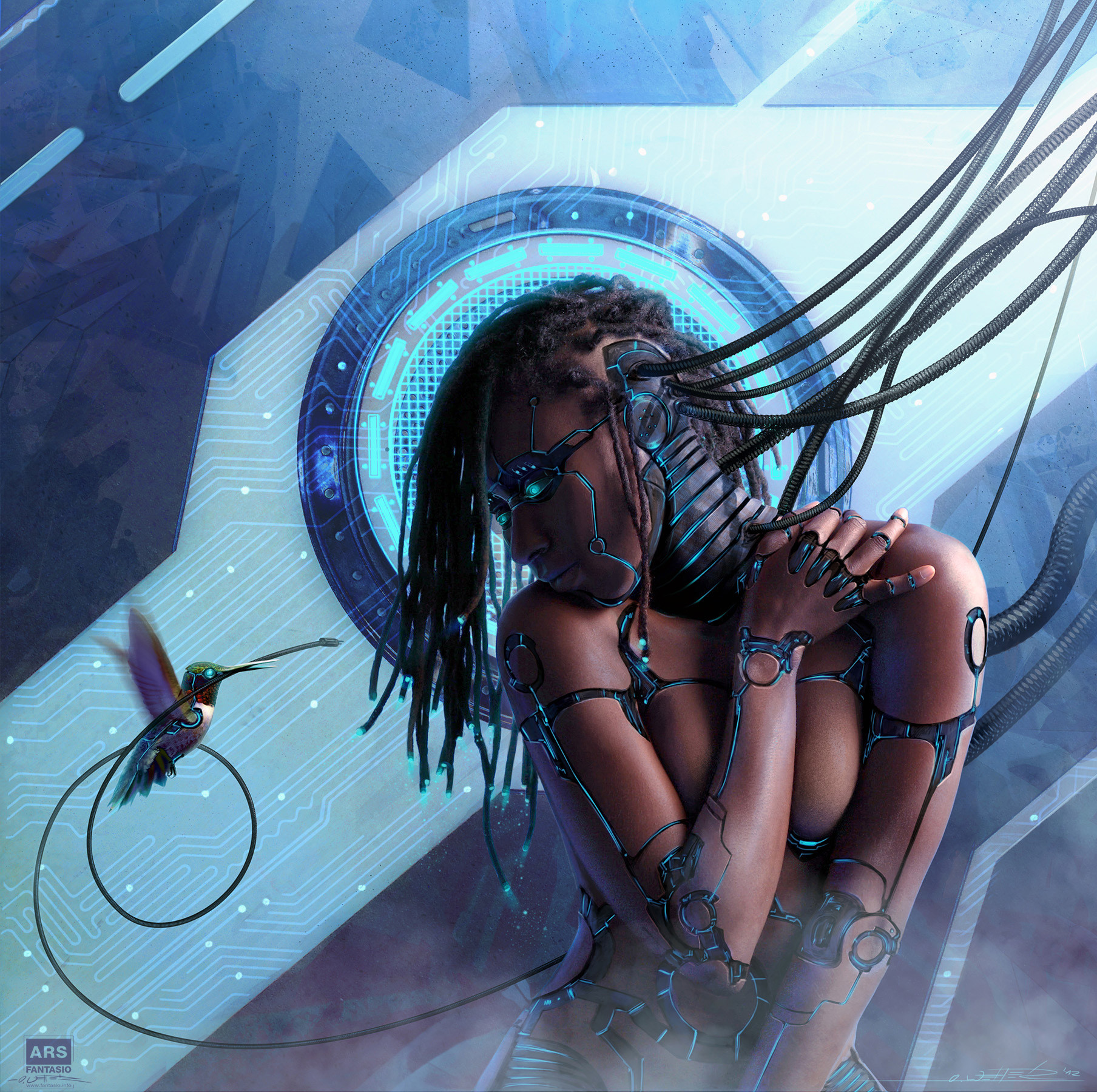 Android Legacy – Messenger II by Oliver Wetter