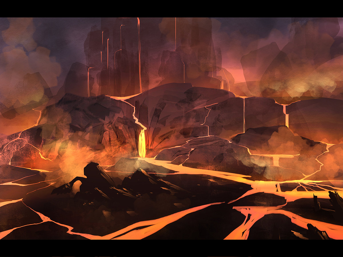 Fire River by Alexandra Petruk