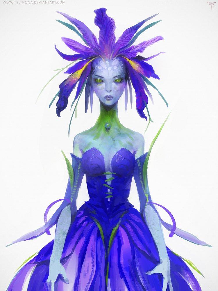 Iris Fairy by Sandra Duchiewicz
