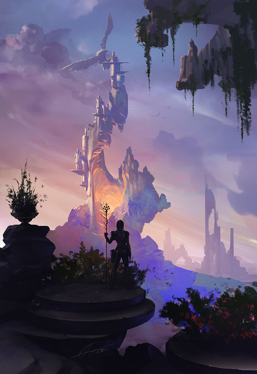 Lava Castle by Alexandra Petruk