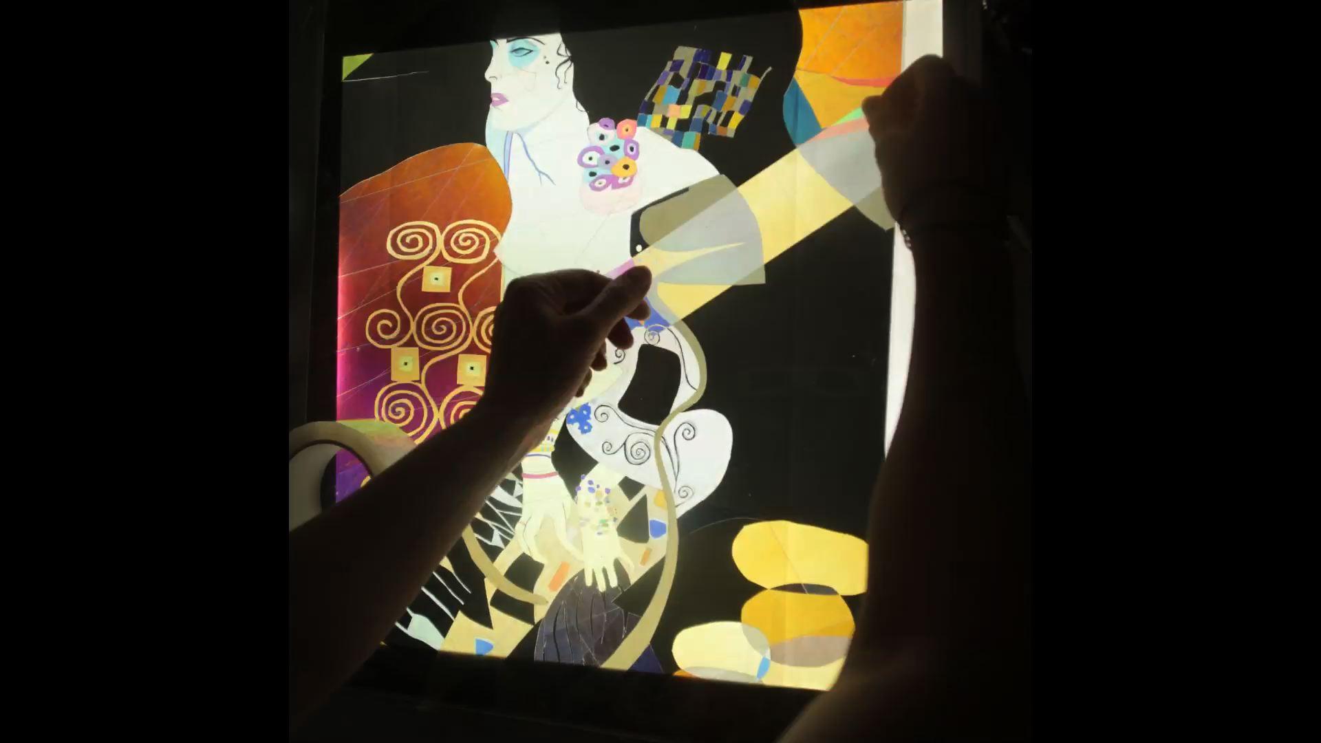 WIP Klimt – AL King