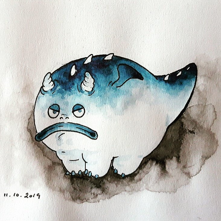 Dragon (Inktober jour 12) – Jubel Merlet