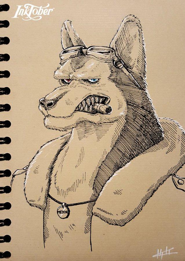Husky (Inktober jour 6) – Kholo