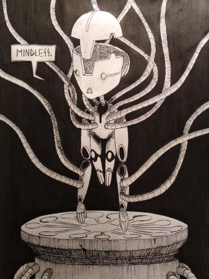Mindless (Inktober jour 2) – Fergal