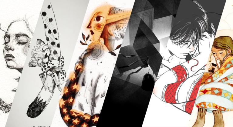 Inktober 2019 : sélection d'artistes semaine 2