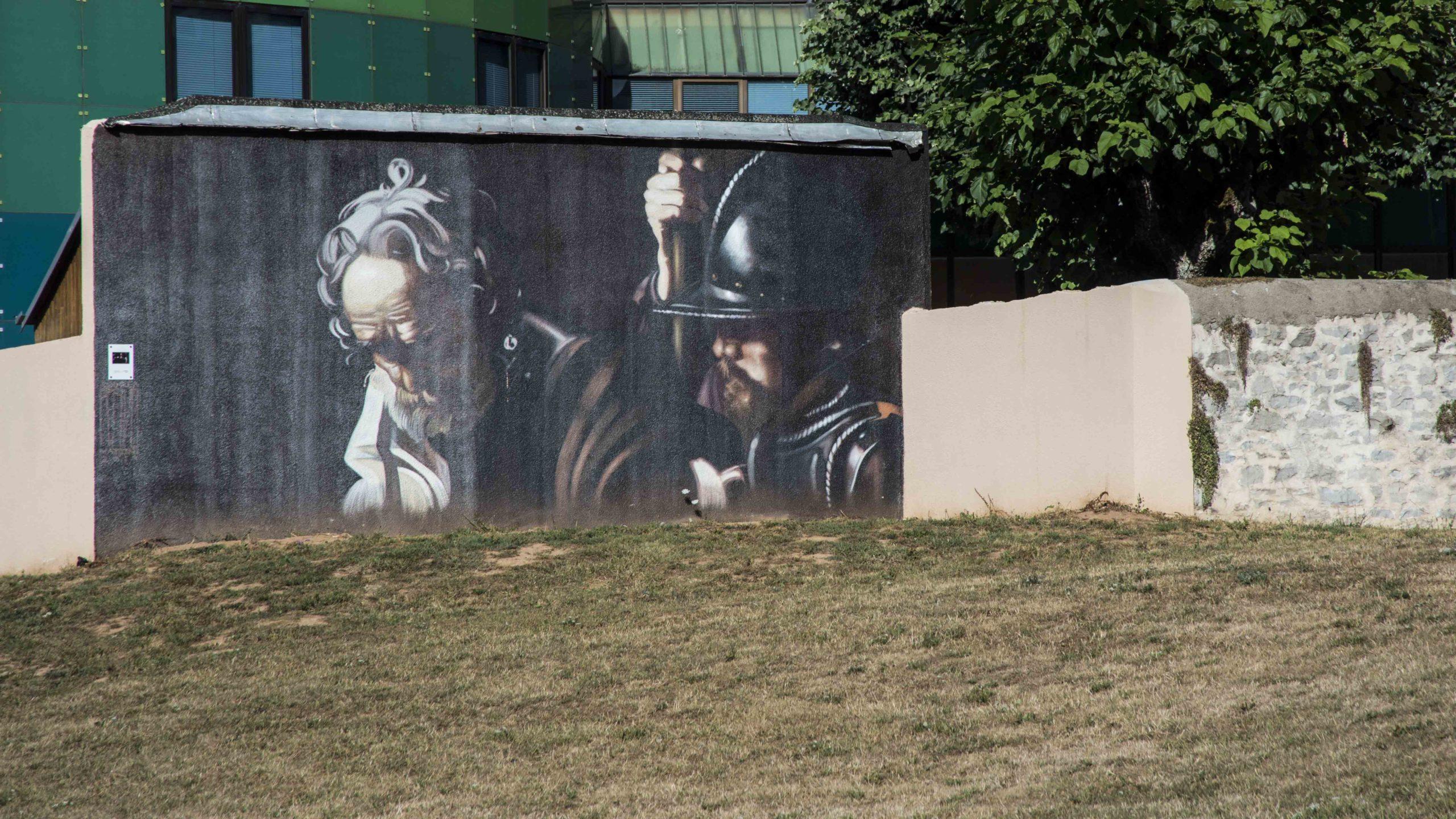Rue Béteille Rodez street art