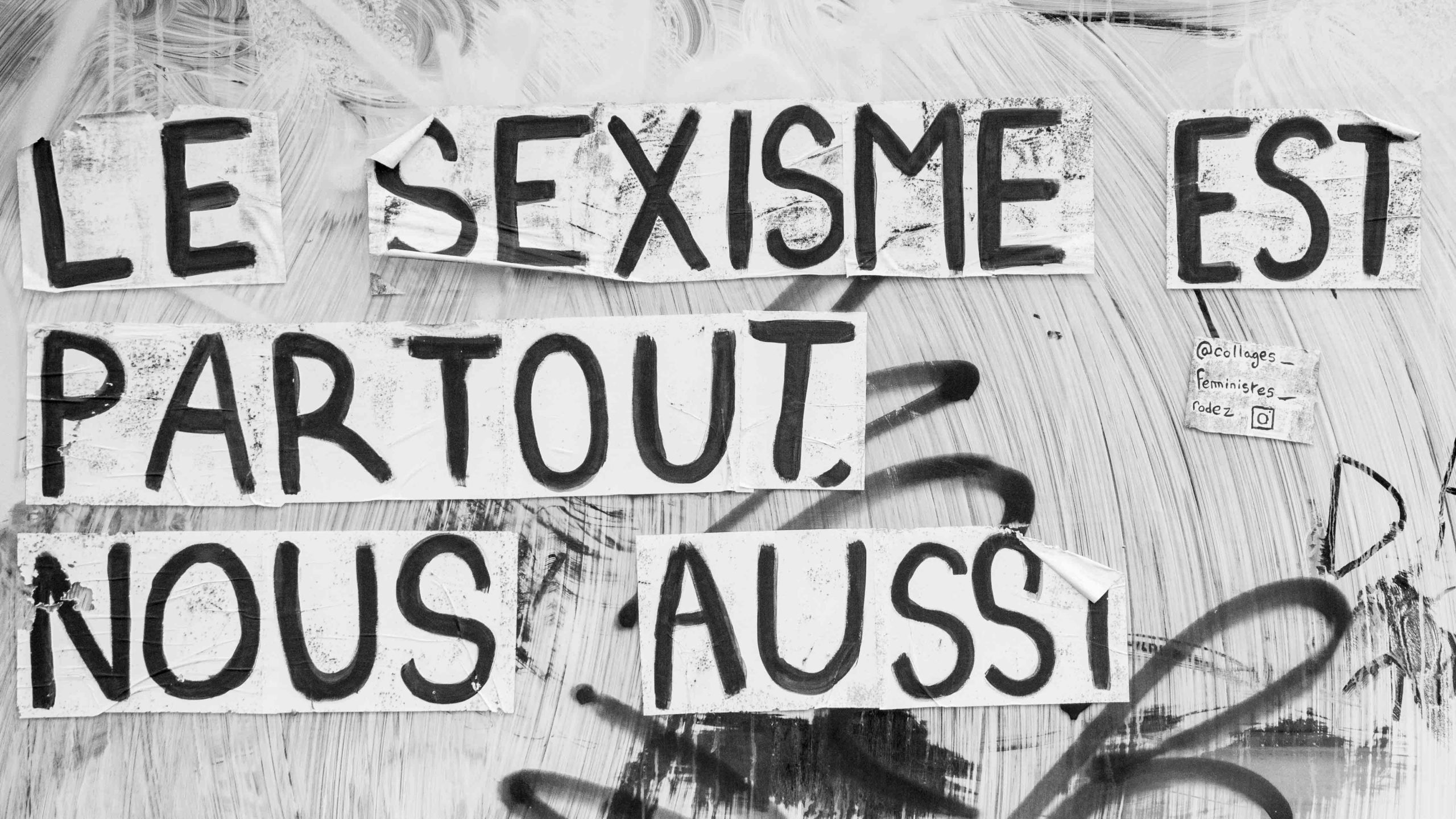 Sexisme street art © Creative Commons CC BY-NC 4.0