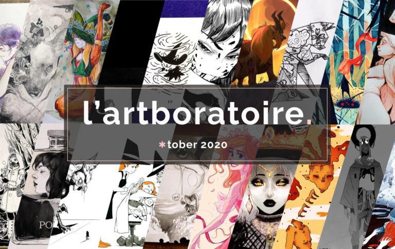 Inktober 2020 - l'artboratoire