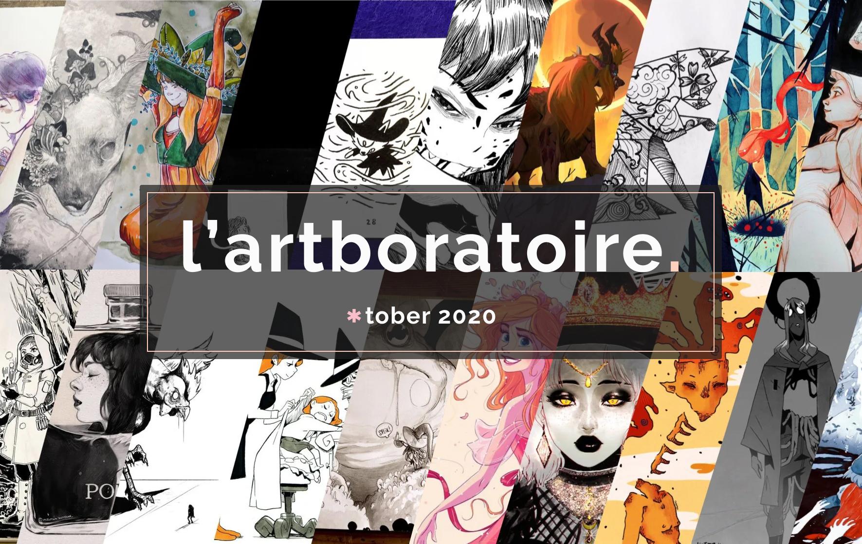 Inktober 2020 – l'artboratoire