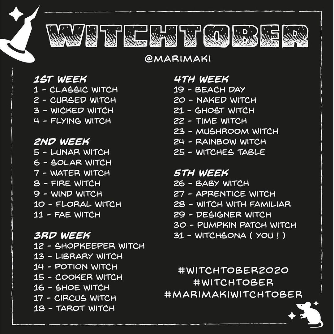 Witchtober 2020 – Marimaki
